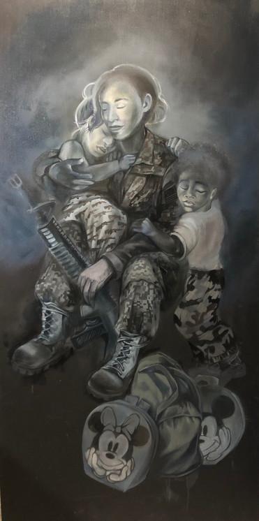 Militia and Child