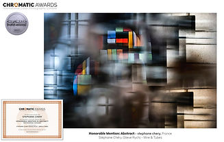 concours photo Chromatic awards abstrait steve rych