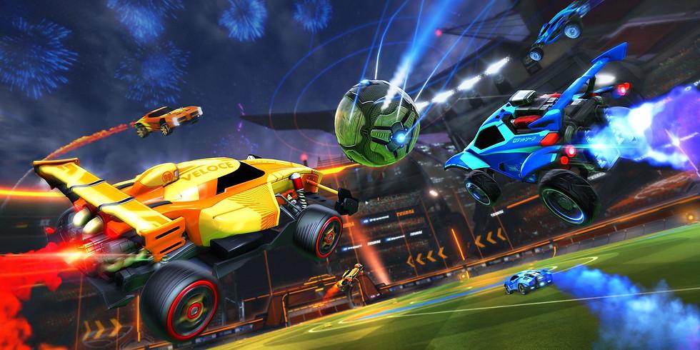 Rocket League!  (Setting Goals, Making Goals!)