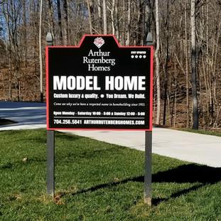 Arthur Rutenberg Homes Model Home Signage