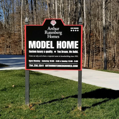 Arthur Rutenberg Homes Model Home Signage