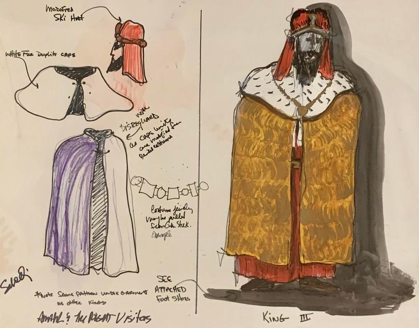 Costume Plate: King III