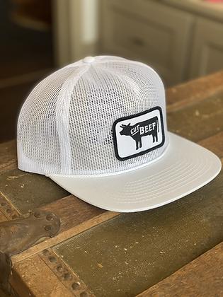 All Mesh Trucker Hat - White