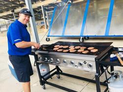 Burgers at Grace Community School