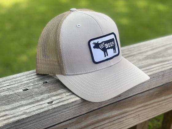 Cut Beef Trucker Hat - Tan