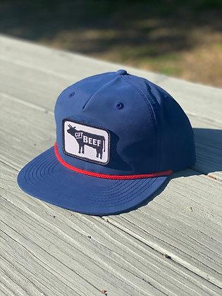 Grandpa Style Logo Hat - Navy