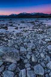 Twilight at Lake Tekapo, New Zealand