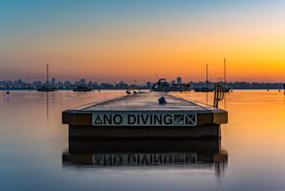 Dawn at Mosman Bay, Perth