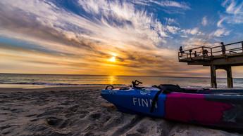 Sunset over North Beach, Perth