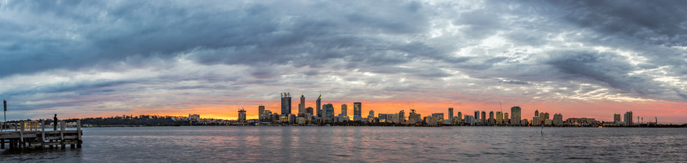 Perth City from South Perth Foreshore