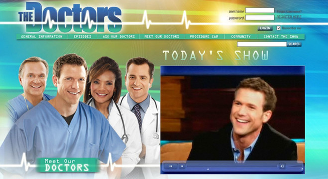 CBS, The Doctor's Show Digital Branding and Assets