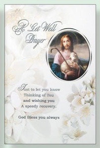 Get Well Prayer (Our Lord)