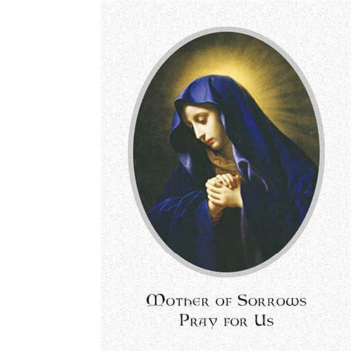 Mother of Sorrows Mass