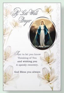 Get Well Prayer (Our Lady)