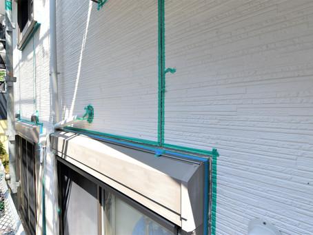 お客様宅のリフォーム外壁屋根塗装工事進捗