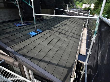 お客様宅のリフォーム外壁屋根塗装工事