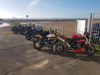 South East cold ride to Hayling Island