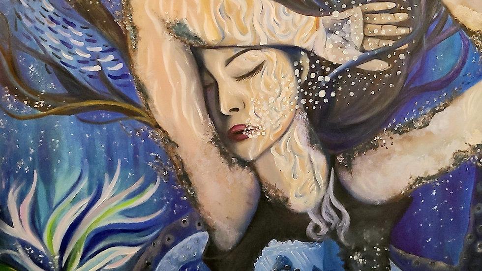 "Goodbye, Salacia (20x30"" Canvas Print)"