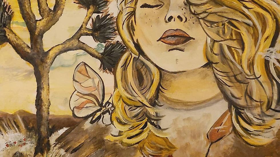 "Filia (Full-Sized 20×16"" Canvas Print)"