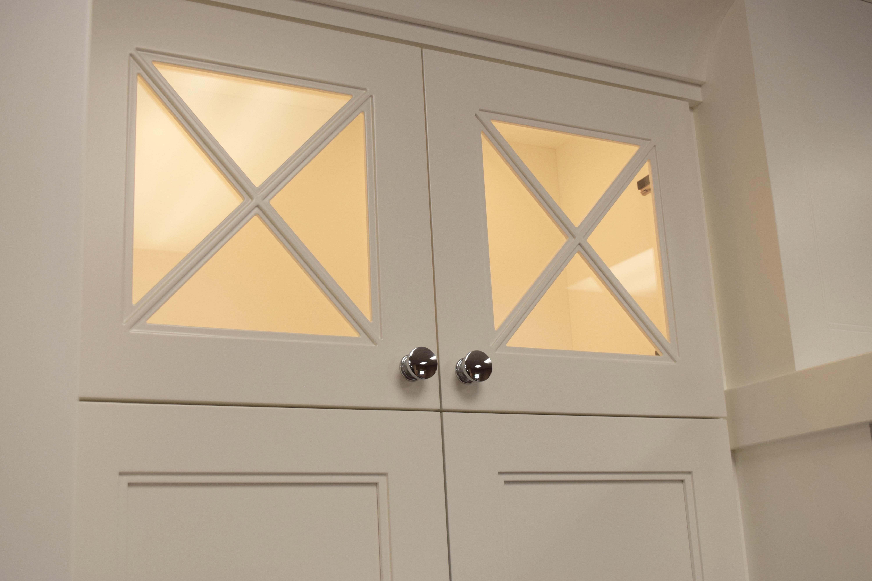 X Style Glass Mullion Doors