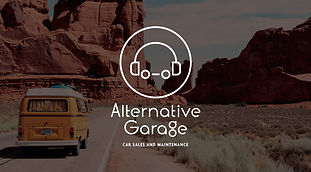 Alternative Garage logo design