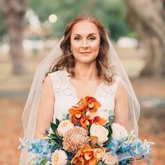 #bride #florist #bouquet #redheadedbrid
