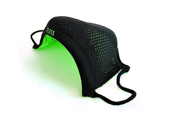 AIRmask  Preto com Flúor Green