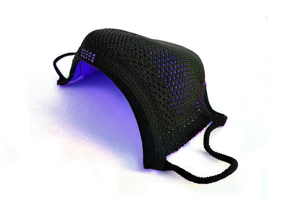 AIRmask Preto com Dark Purple