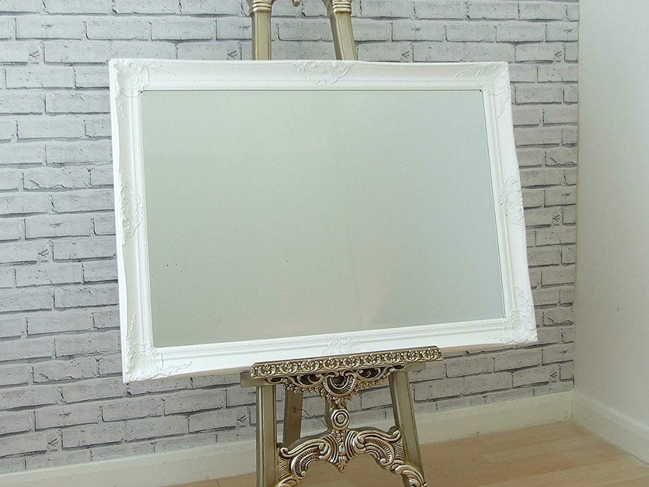 Ornate Easel with Mirror