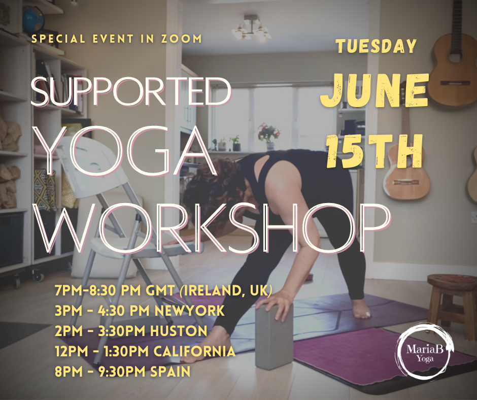 Supported Yoga Workshop 24TH OF JUNE