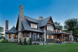 Lake Home Exterior Image from rear