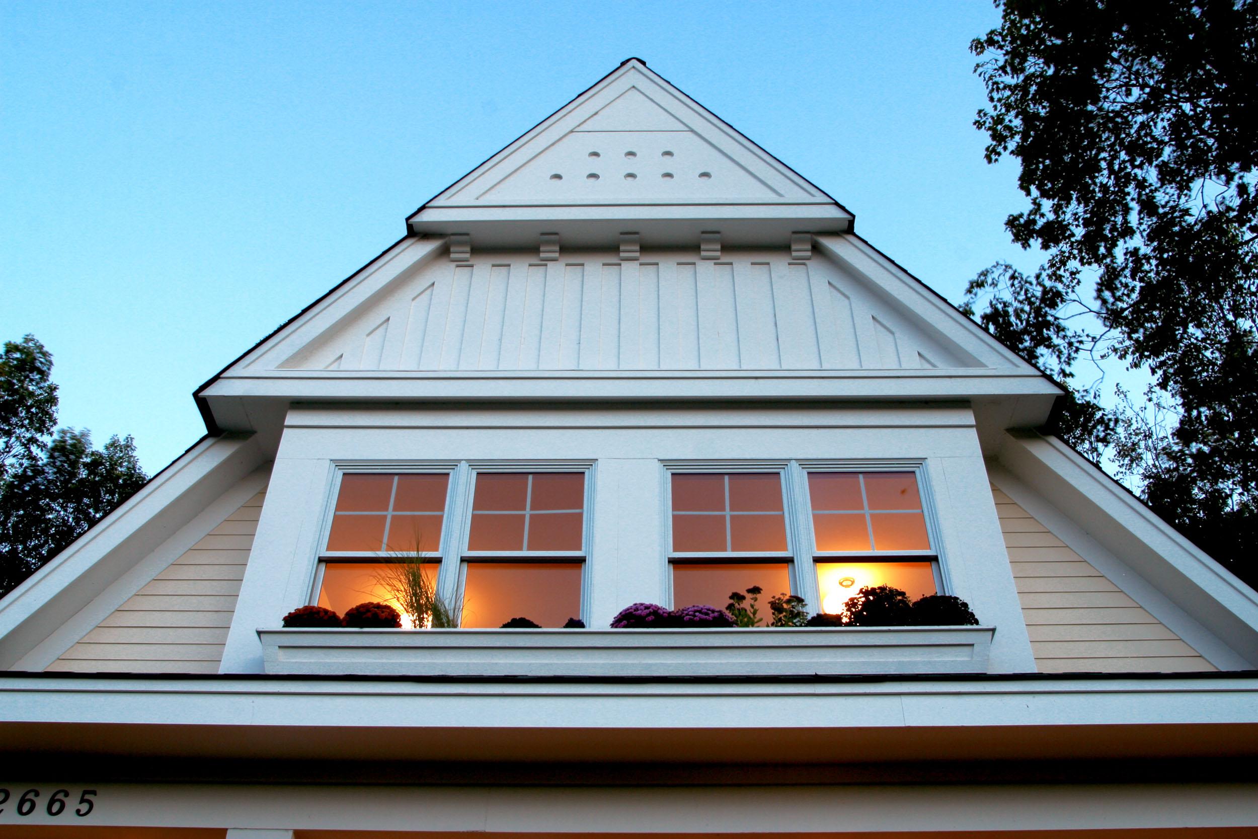 Modern Cottage Exterior Detail