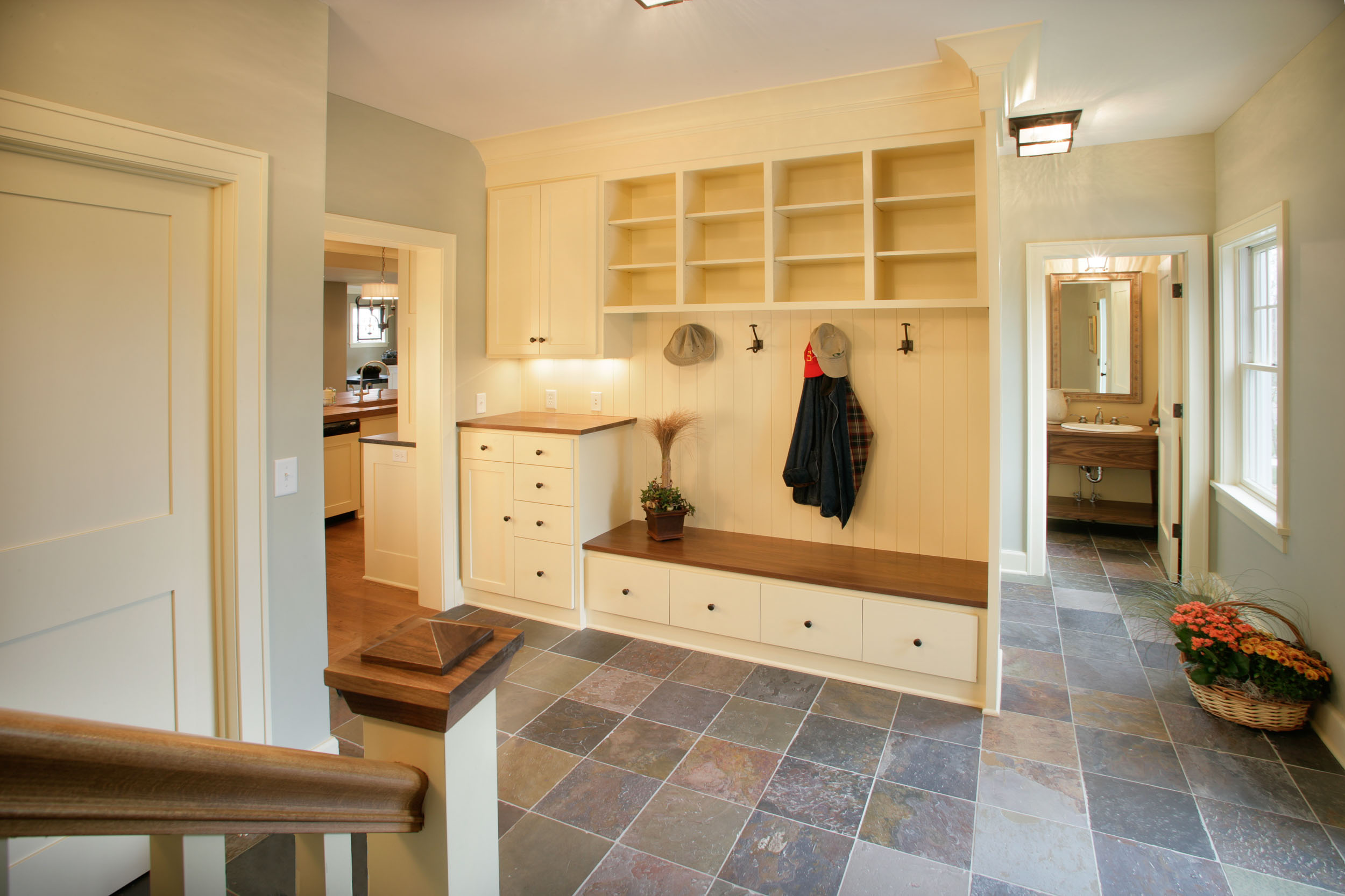 Cape Cod Mudroom Image