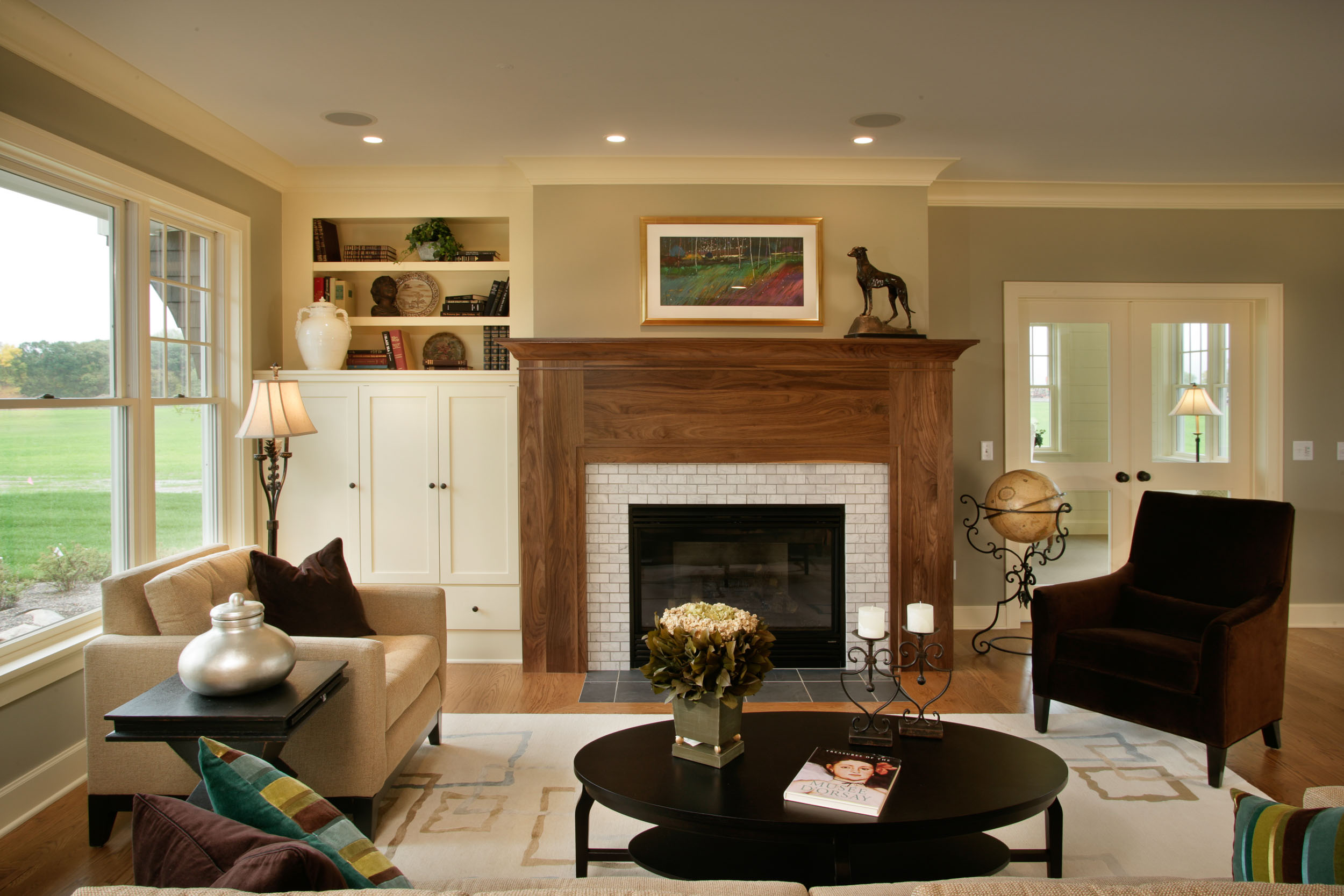 Cape Cod Fireplace Image