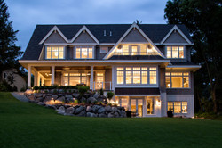 Artisan Home Exterior from Lake