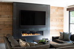 Modern Rustic - Family Room Fireplace