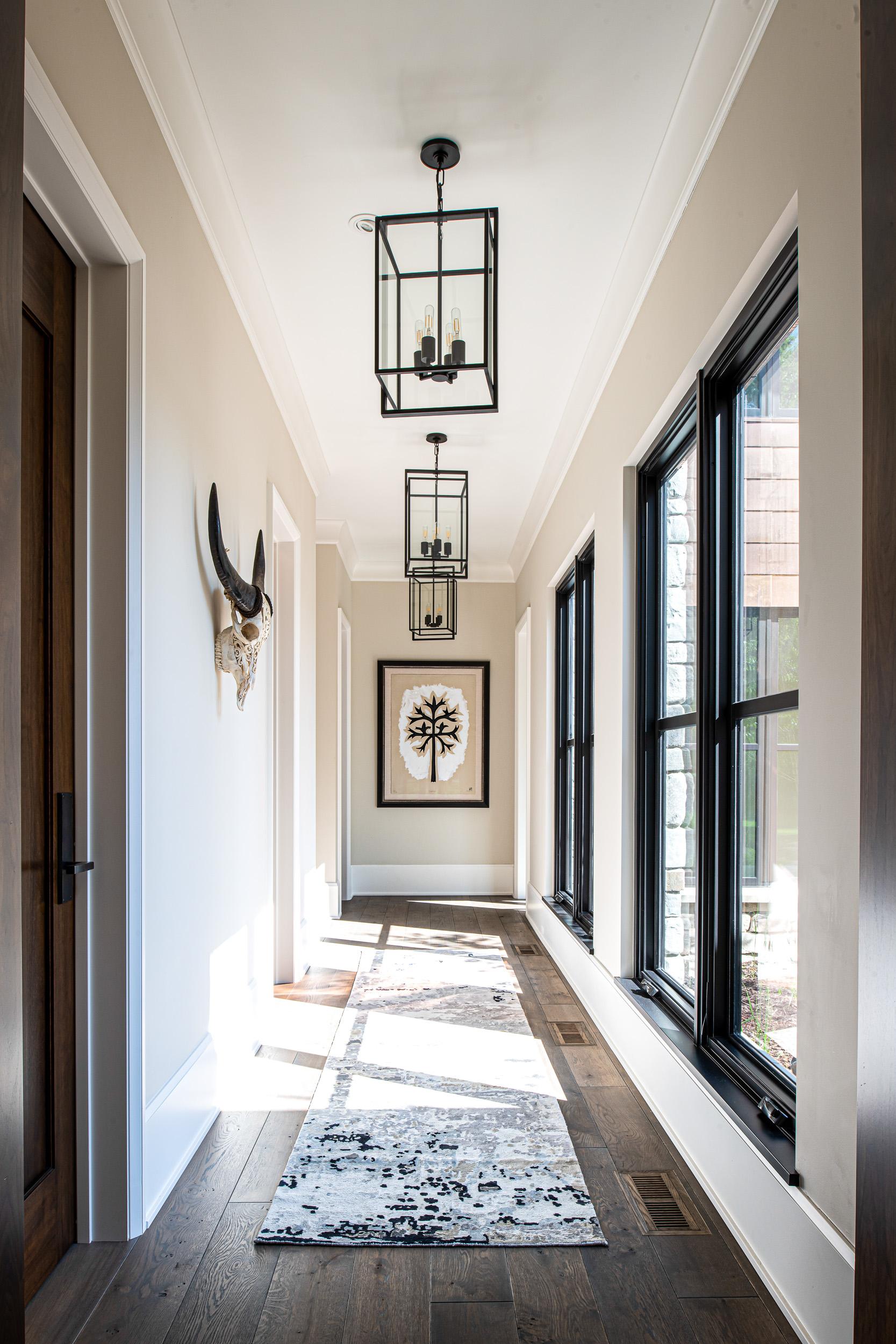 Modern Rustic - Hallway