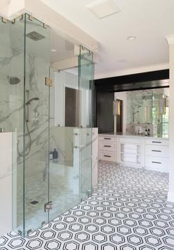 Modern Rustic - Owner's Suite Shower