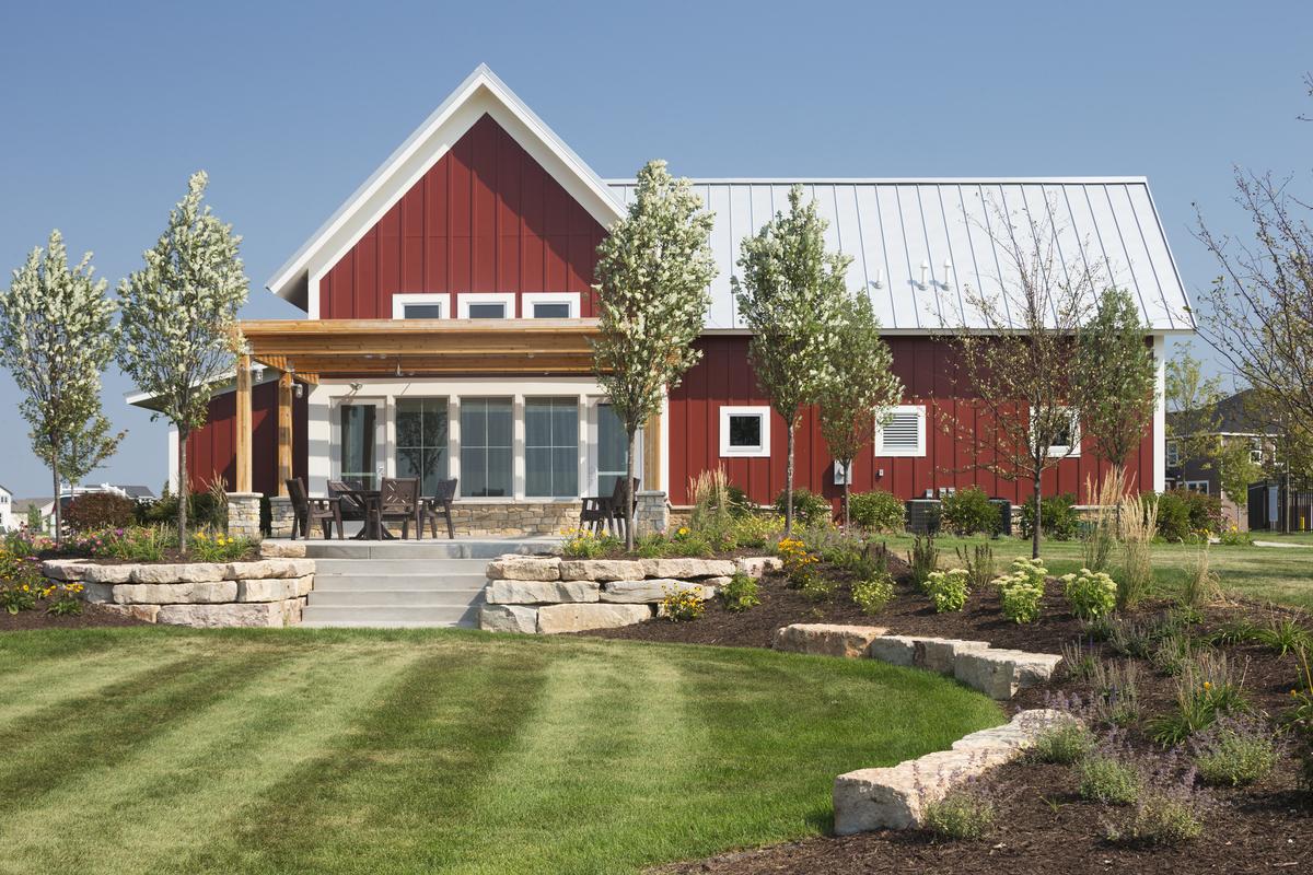 Community Building Exterior Image