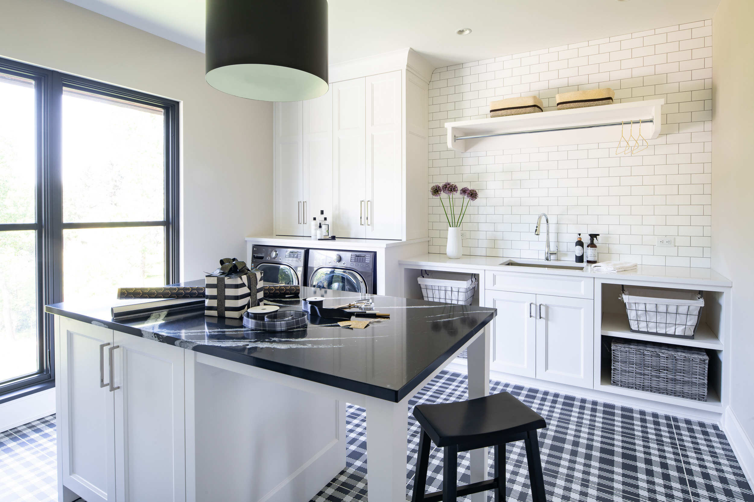 Modern Rustic - Laundry Room