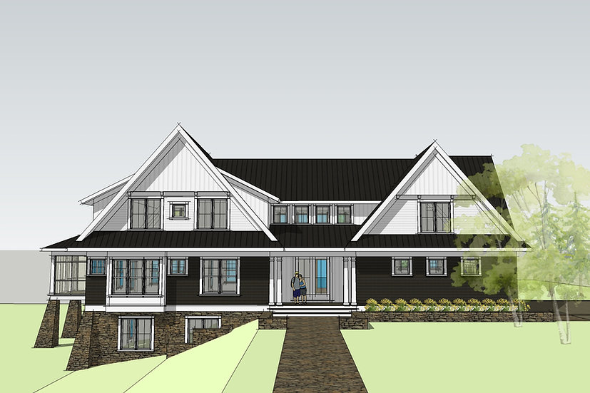Willowbrook Country House Plan