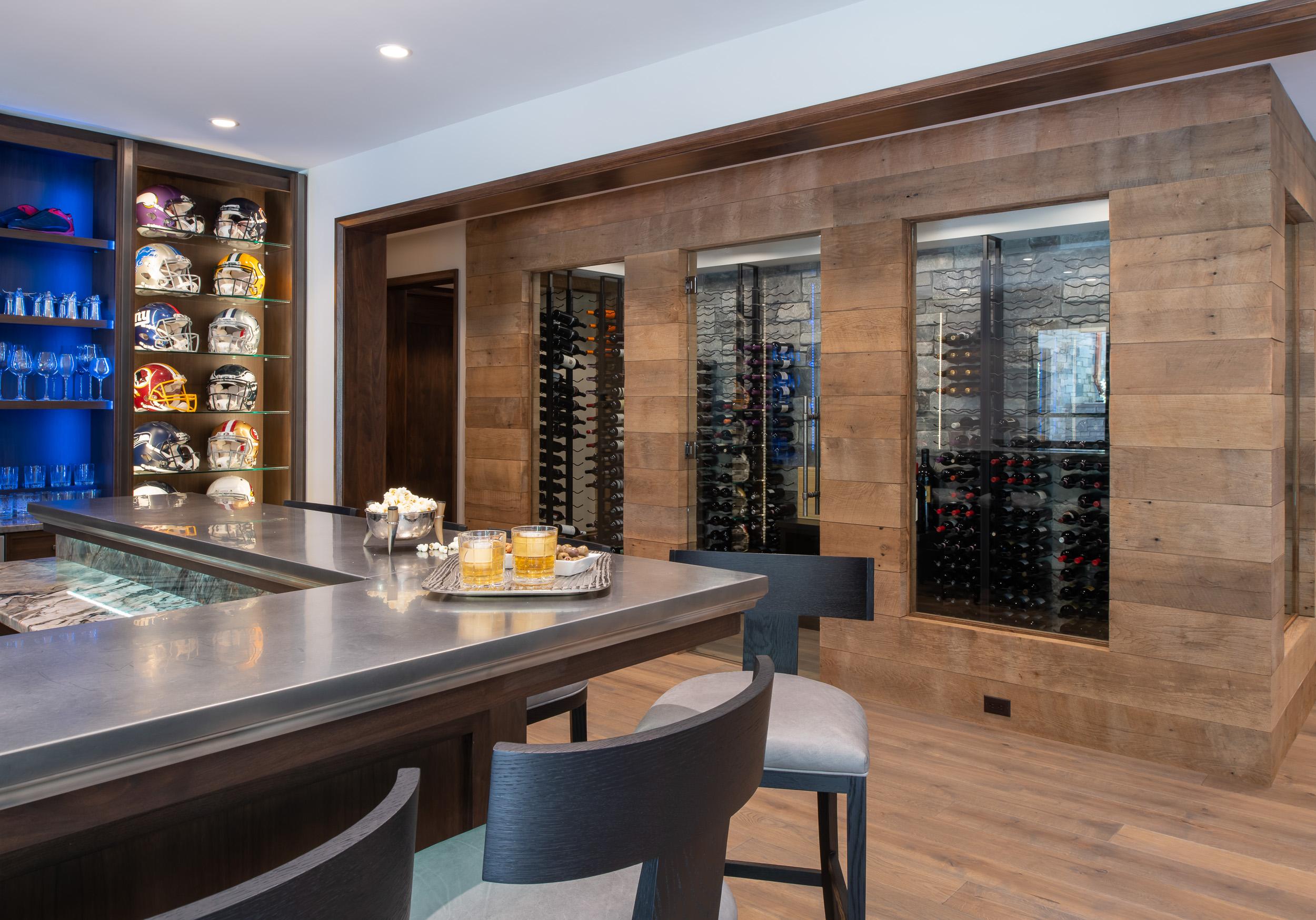 Modern Rustic - Wine Cellar