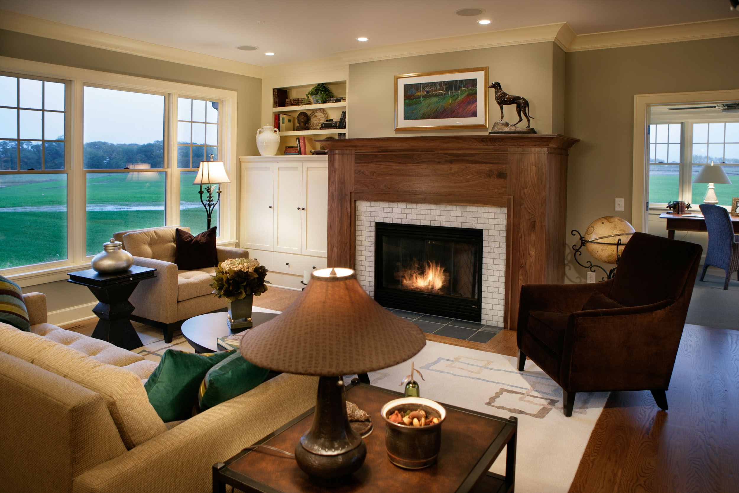 Cape Cod Living Room Image