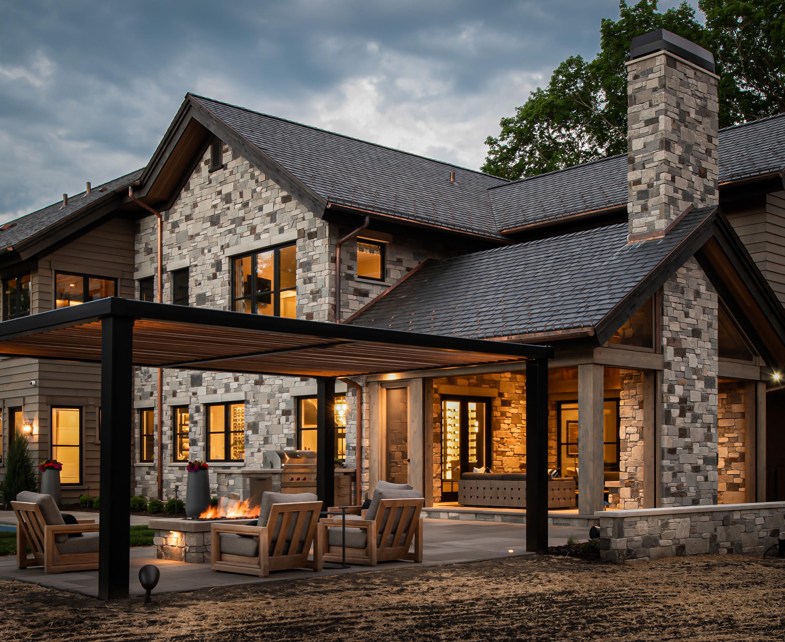 Modern Rustic - Exterior Porch