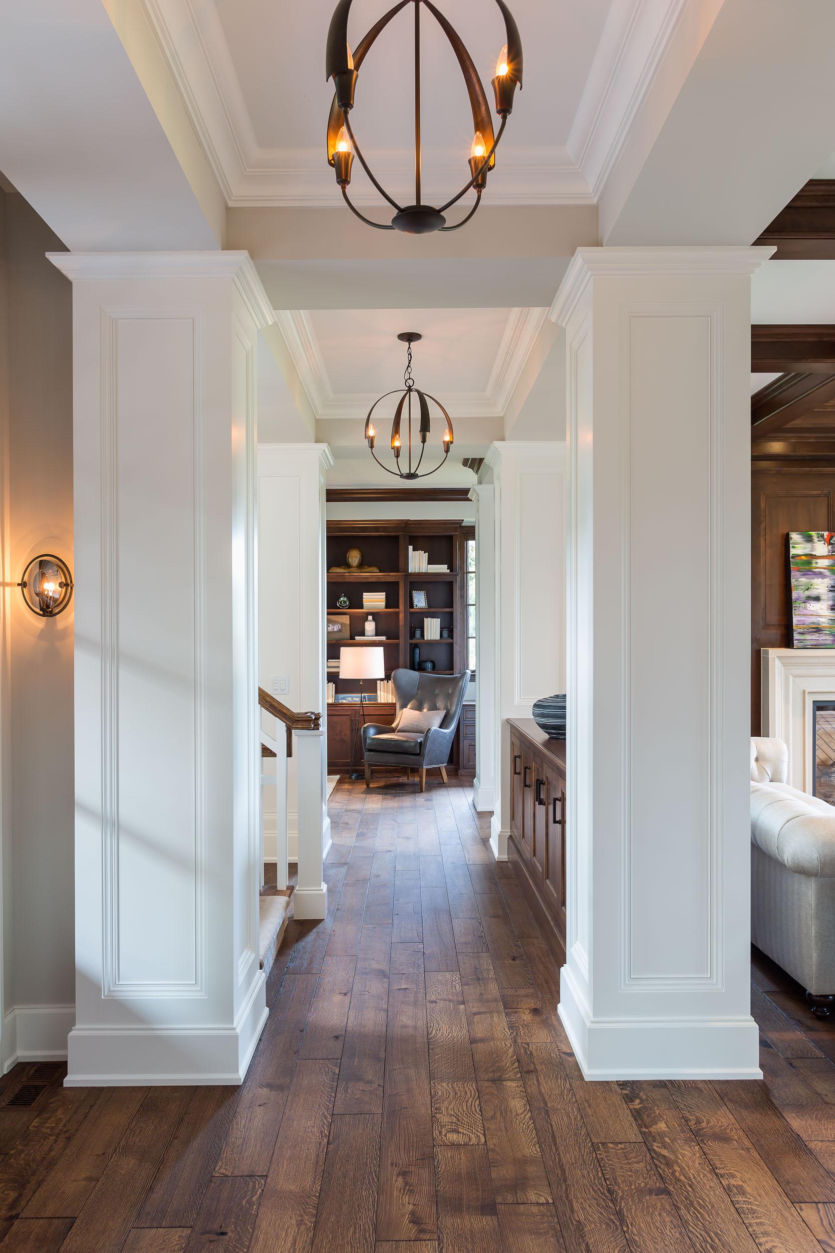 Orono Artisan Home Hallway Image
