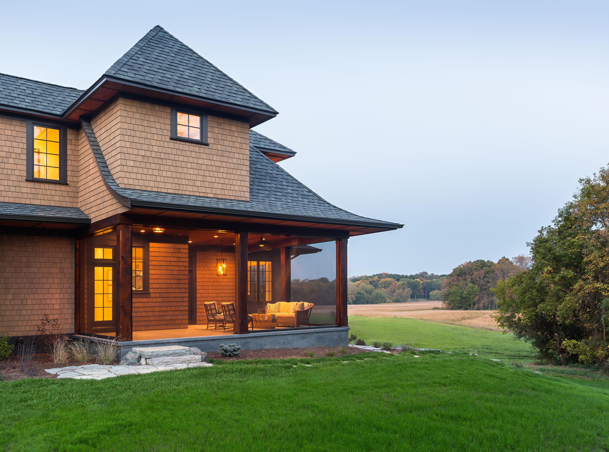 Orono Artisan Home Porch Image
