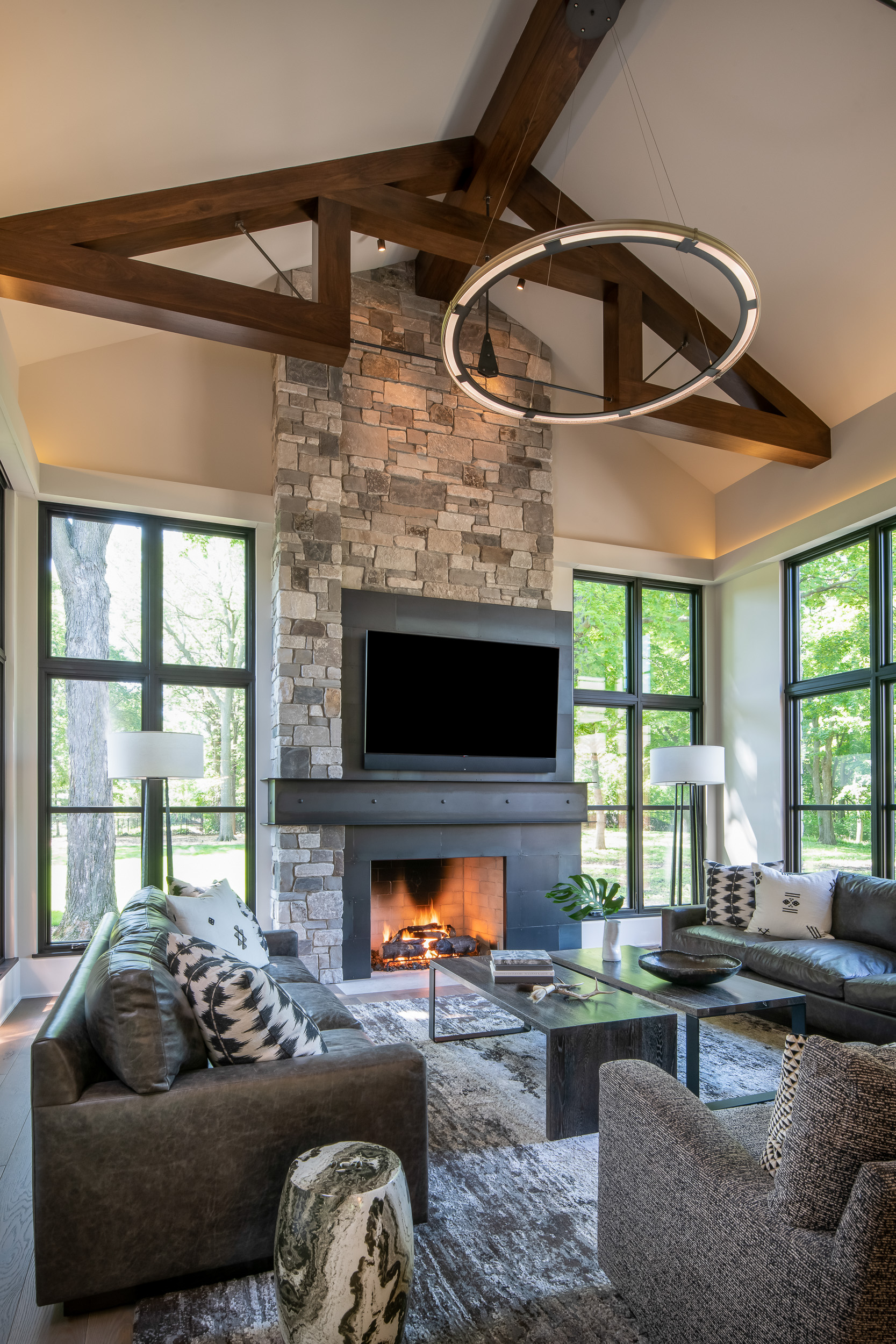 Modern Rustic - Great Room