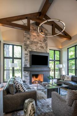 Modern Rustic - Great Room