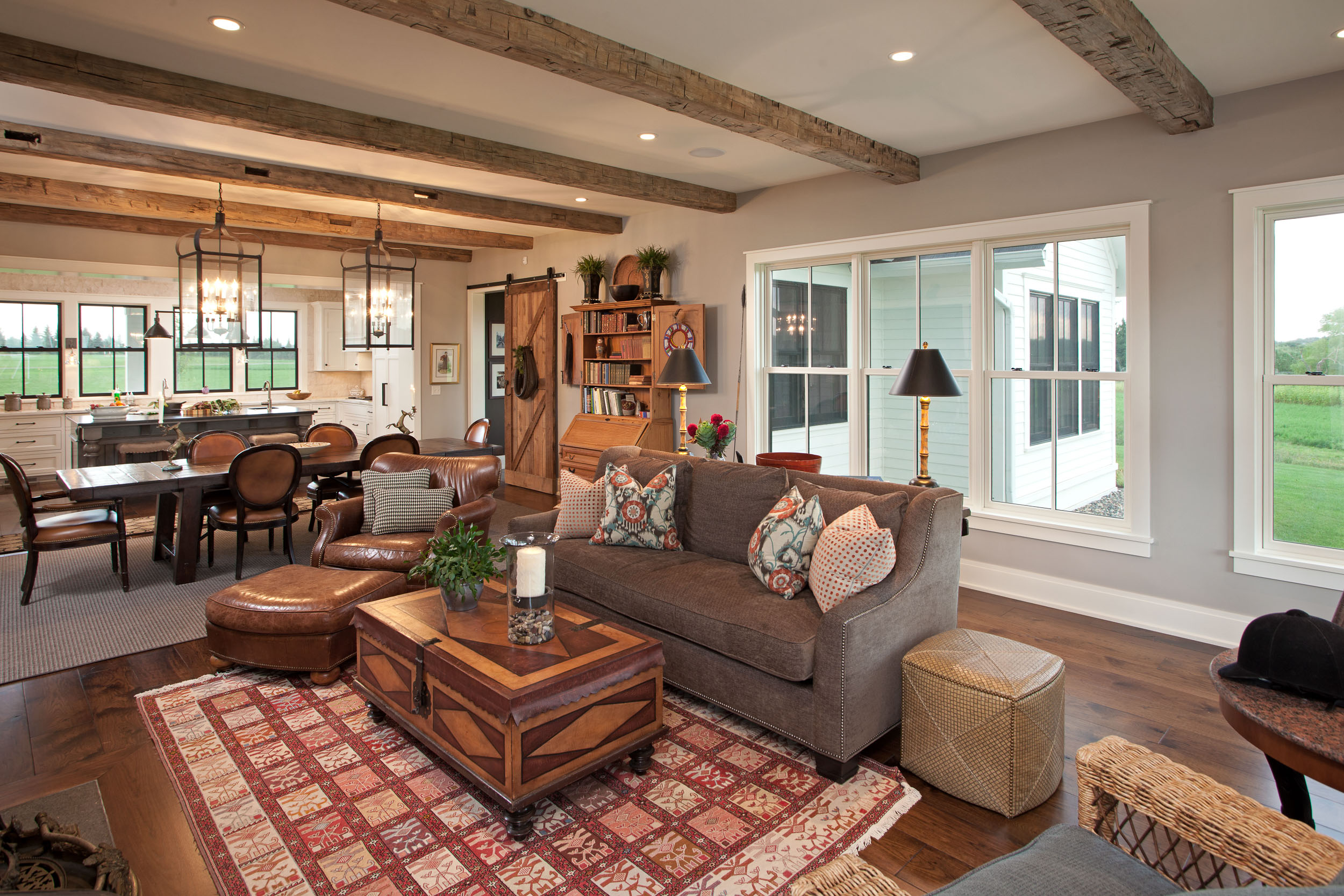 Modern Farmhouse Living Room Image