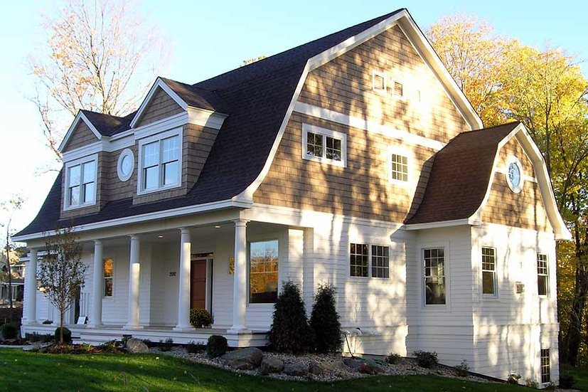 Tonka Dutch Colonial Exterior with Front Porch Image